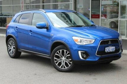 2015 Mitsubishi ASX XB MY15.5 LS 2WD Blue 6 Speed Constant Variable Wagon Osborne Park Stirling Area Preview