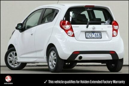 2014 Holden Barina Spark MJ MY14 CD White 4 Speed Automatic Hatchback Vermont Whitehorse Area Preview