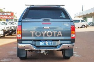 2009 Toyota Hilux KUN26R MY10 SR5 Graphite 4 Speed Automatic Utility Wangara Wanneroo Area Preview