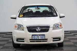 2010 Holden Barina TK MY11 White 4 Speed Automatic Sedan Edgewater Joondalup Area Preview