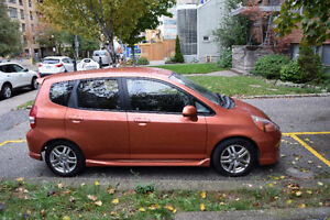 2007 Honda Fit Sport, Low Mileage, No Rust, Great on Gas