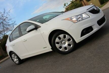 2012 Holden Cruze JH Series II MY12 CD Heron White 6 Speed Auto Seq Sportshift Hatchback Nailsworth Prospect Area Preview