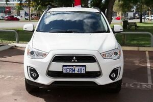 2015 Mitsubishi ASX XB MY15 LS 2WD White 6 Speed Constant Variable Wagon Wilson Canning Area Preview