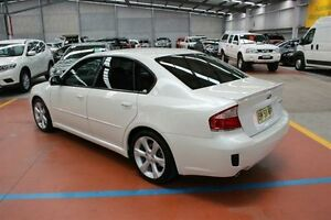 2009 Subaru Liberty B4 MY09 AWD White 4 Speed Sports Automatic Sedan Maryville Newcastle Area Preview