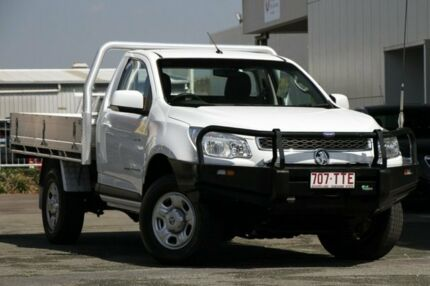 2014 Holden Colorado RG MY15 LS White 6 Speed Manual Cab Chassis