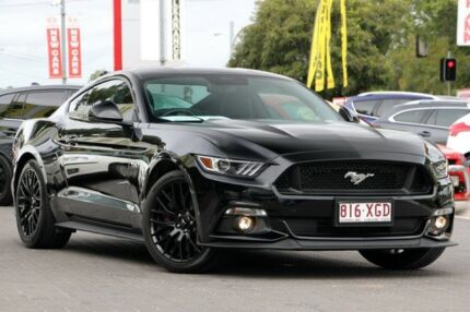 2016 Ford Mustang FM GT Fastback Black 6 Speed Manual Fastback Moorooka Brisbane South West Preview