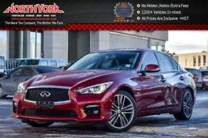 2016 INFINITI Q50 3.0t AWD|Sunroof|Heat.Frnt Seats|Nav|Backup_Ca
