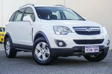 2012 Holden Captiva CG Series II 5 Summit White 6 Speed Manual Wagon Bellevue Swan Area Preview