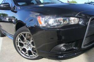 2012 Mitsubishi Lancer CJ MY13 Ralliart TC-SST Black 6 Speed Sports Automatic Dual Clutch Sedan