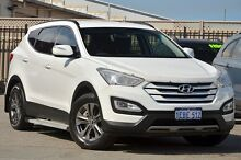 2012 Hyundai Santa Fe DM MY13 Active White 6 Speed Sports Automatic Wagon Morley Bayswater Area Preview