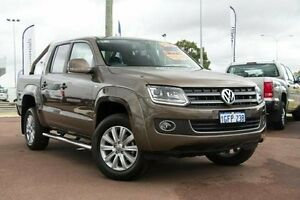 2016 Volkswagen Amarok 2H MY16 TDI420 4Motion Perm Highline Brown 8 Speed Automatic Utility Wilson Canning Area Preview