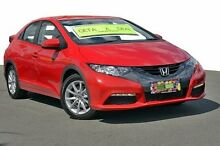 2013 Honda Civic  Red Sports Automatic Hatchback Tweed Heads 2485 Tweed Heads Area Preview
