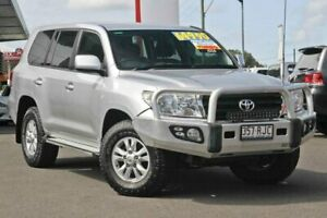2011 Toyota Landcruiser VDJ200R MY10 GXL Silver 6 Speed Sports Automatic Wagon Monkland Gympie Area Preview