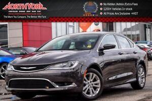 2016 Chrysler 200 Limited Backup Cam|R.Start|Bluetooth|Sat Radio