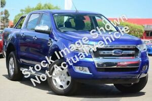 2015 Ford Ranger PX MkII XLT Double Cab Aurora Blue 6 Speed Manual Utility Mackay Mackay City Preview