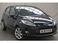 2012 Ford Fiesta 1.4 ZETEC 16V 5d 96 BHP Petrol black Manual