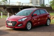 2016 Hyundai i30 GD4 Series II MY17 Active Red 6 Speed Sports Automatic Hatchback The Gardens Darwin City Preview