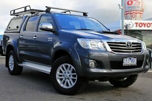 2013 Toyota Hilux Grey Automatic Utility Keysborough Greater Dandenong Preview
