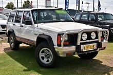 1996 Jeep Cherokee XJ Sport White 4 Speed Automatic Wagon Myaree Melville Area Preview