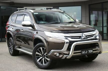 2016 Mitsubishi Pajero Sport QE MY16 GLS Deep Bronze 8 Speed Sports Automatic Wagon