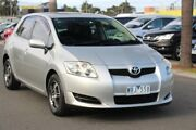 2008 Toyota Corolla ZRE152R Ascent Silver 4 Speed Automatic Hatchback Heatherton Kingston Area Preview