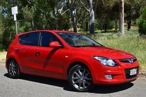 2011 Hyundai i30 FD MY11 Trophy Red 4 Speed Automatic Hatchback St Marys Mitcham Area Preview