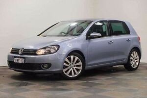 2010 Volkswagen Golf VI MY10 118TSI DSG Comfortline Blue 7 Speed Sports Automatic Dual Clutch Edgewater Joondalup Area Preview