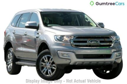2017 Ford Everest UA Trend 4WD Gold 6 Speed Sports Automatic Wagon