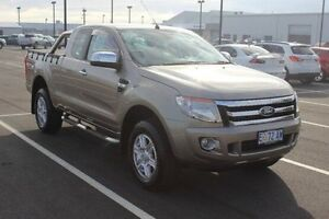 2014 Ford Ranger PX XLT Super Cab 4x2 Hi-Rider Gold 6 Speed Sports Automatic Utility Devonport Devonport Area Preview