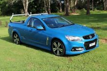 2014 Holden Ute VF SV6 Storm Blue 6 Speed Automatic Utility Port Macquarie 2444 Port Macquarie City Preview