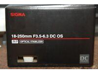 Sigma 18-250mm F3.5-6.3 DC MACRO