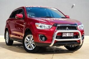 2013 Mitsubishi ASX XB MY13 Aspire 2WD Red 6 Speed Constant Variable Wagon Yeerongpilly Brisbane South West Preview