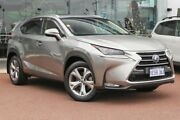 2015 Lexus NX AYZ15R NX300h E-CVT AWD Sports Luxury Mercury Grey 6 Speed Constant Variable Wagon Osborne Park Stirling Area Preview