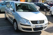 2007 Volkswagen Polo 9N MY2008 Match Silver 6 Speed Sports Automatic Hatchback Heatherton Kingston Area Preview
