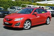2010 Mazda 6 GH1052 MY10 Luxury Sports Red 5 Speed Sports Automatic Hatchback New Lambton Newcastle Area Preview