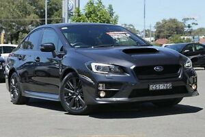 2014 Subaru WRX V1 MY15 Lineartronic AWD Grey 8 Speed Constant Variable Sedan Gymea Sutherland Area Preview