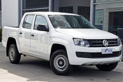 2016 Volkswagen Amarok 2H MY16 TDI420 White 8 Speed Automatic Utility
