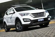 2013 Hyundai Santa Fe  White Sports Automatic Wagon St James Victoria Park Area Preview