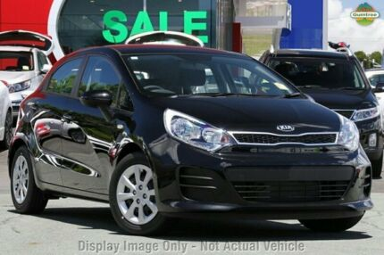 2015 Kia Rio UB MY15 S Aurora Black 6 Speed Manual Hatchback Mornington Mornington Peninsula Preview