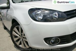 2011 Volkswagen Golf VI MY12 118TSI White 6 Speed Manual Cabriolet