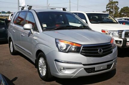 2015 Ssangyong Stavic A100 MY14 Silver 5 Speed Sports Automatic Wagon Mill Park Whittlesea Area Preview