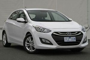 2014 Hyundai i30 GD2 MY14 SE White 6 Speed Sports Automatic Hatchback Upper Ferntree Gully Knox Area Preview