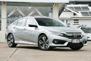 2017 Honda Civic 10th Gen MY17 VTI-LX Silver 1 Speed Constant Variable Sedan Moorooka Brisbane South West Preview