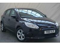 2011 Ford Focus 1.6 EDGE TDCI 95 5d 94 BHP Diesel black Manual