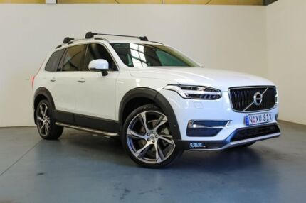 2015 Volvo XC90 L Series MY16 T6 Geartronic AWD Momentum White 8 Speed Sports Automatic Wagon Hamilton East Newcastle Area Preview