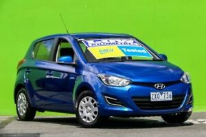 2012 Hyundai i20 PB MY13 Active Blue 6 Speed Manual Hatchback Ringwood East Maroondah Area Preview