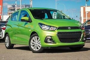2016 Holden Spark MP MY16 LT Green 1 Speed Constant Variable Hatchback Fremantle Fremantle Area Preview