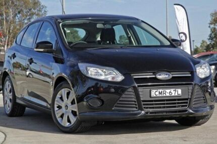 2011 Ford Focus LV Mk II CL Black 4 Speed Auto Seq Sportshift Hatchback Penrith Penrith Area Preview