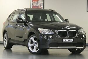 2011 BMW X1 E84 MY11 xDrive20d Steptronic Black 6 Speed Sports Automatic Wagon Chatswood Willoughby Area Preview