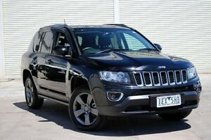 2015 Jeep Compass MK MY15 North CVT Auto Stick Black 6 Speed Constant Variable Wagon Seaford Frankston Area Preview